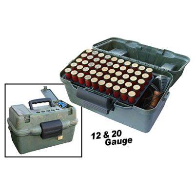 Boite MTM de rangement  pour les cartouches calibre 12