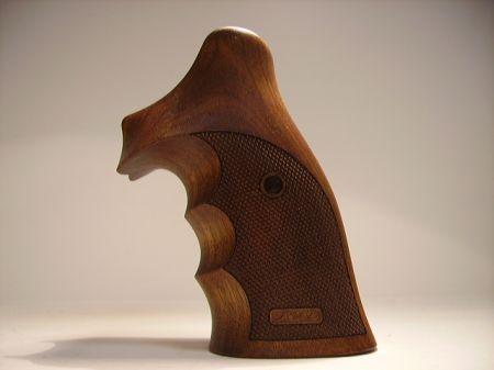 Poignée COMBAT en bois pour revolver Smith & Wesson K/L RB SW0368