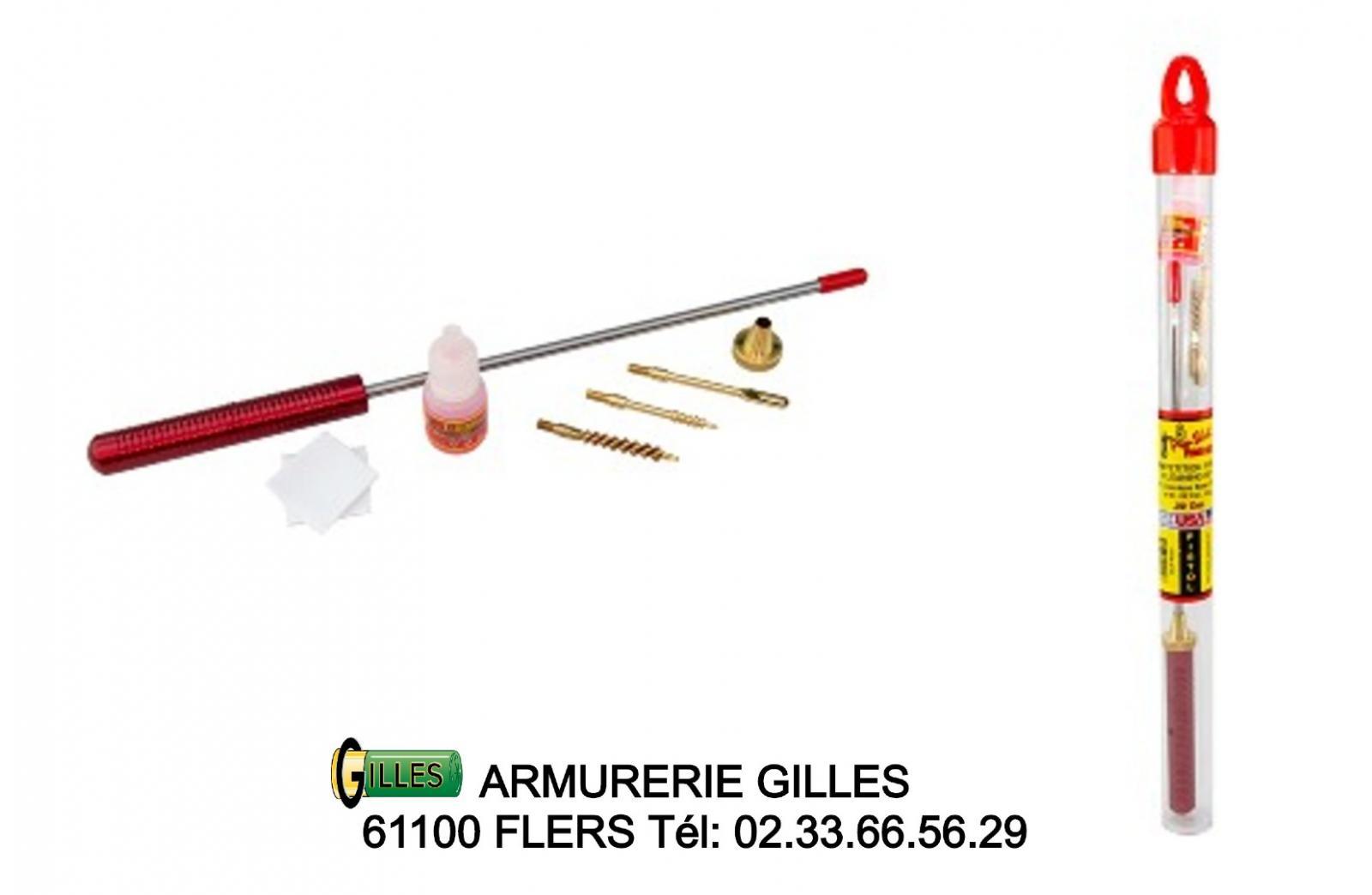 Kit de nettoyage PRO-SHOT pour arme de poing cal 22 lr PROC22