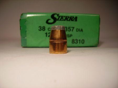 Cal 38 JSP 125 grs SportsMaster SI8310