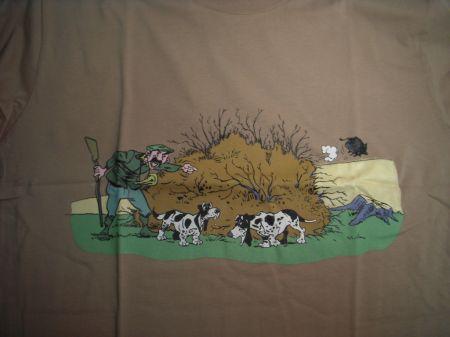 Tee shirt humoristique chiens MAR051S