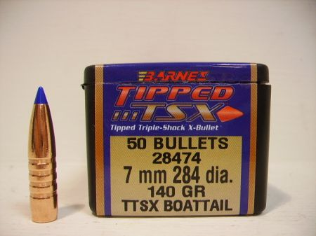 Ogives .284 calibre 7MM TTSX 140 grs B28474
