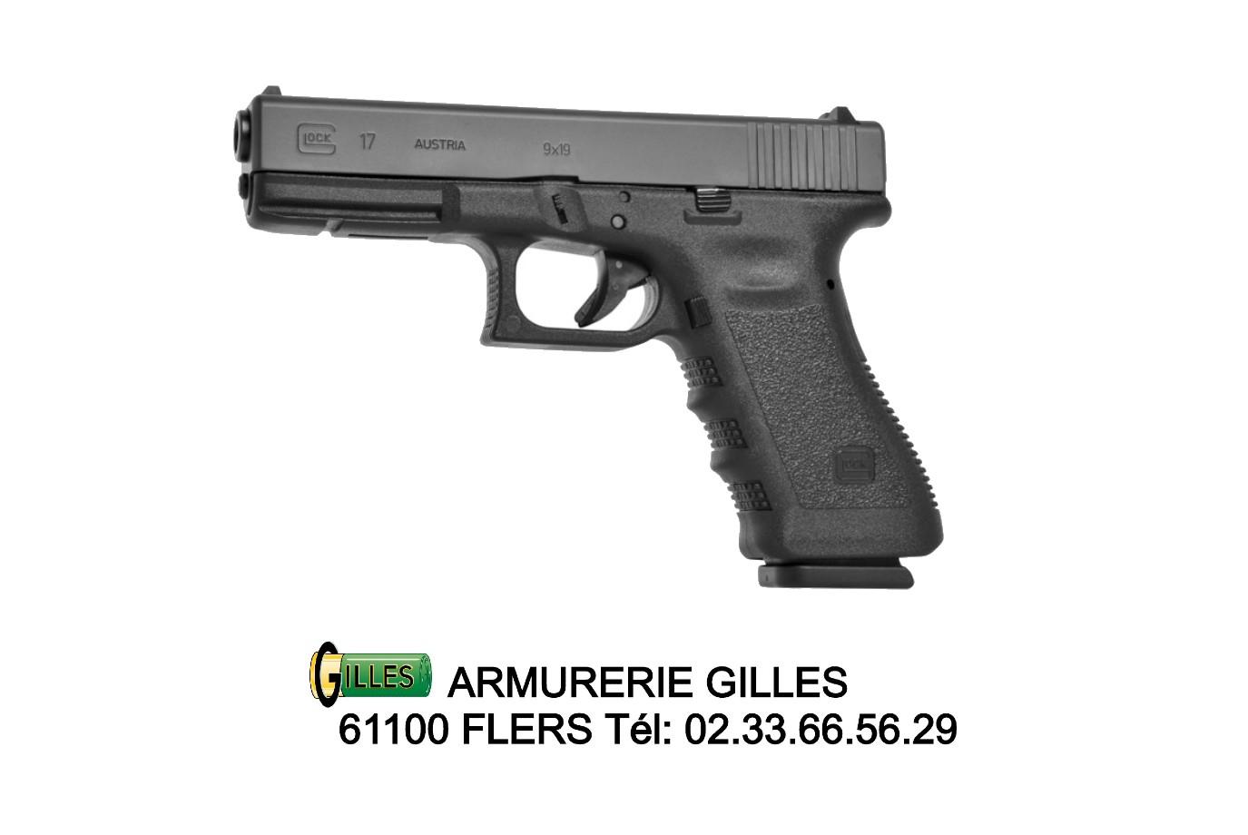 Pistolet GLOCK 17 GEN 3 Cal. 9x19 mm