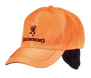 Casquette BROWNING orange fluo BRO308229