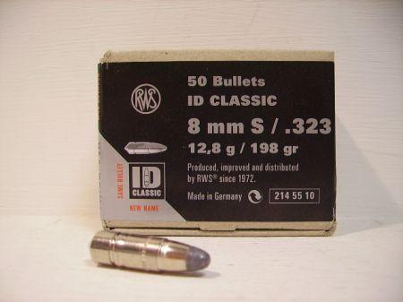 50 ogives ID CLASSIC RWS calibre 8 mm 12G8 R2145510