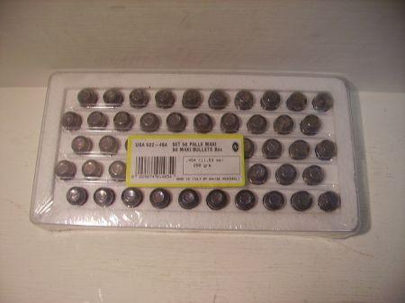 Boite de 50  MAXI balles PEDERSOLI  454 PSUSA522