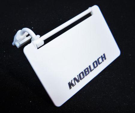 Ecran de protection latérale BLANC pour monture KNOBLOCH G338