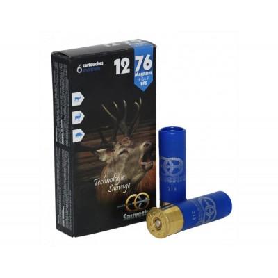 Boite de 6 balles SAUVESTRE calibre 12 / 76 SAM1