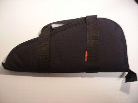 Housse triangulaire pour arme de poing avec poignée  AKA63706