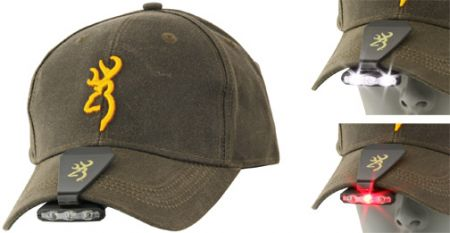 Casquette BROWNING + lampe BRO3715085