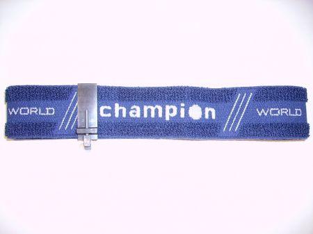 Bandeau bleu CHAMPION avec écran cache oeil