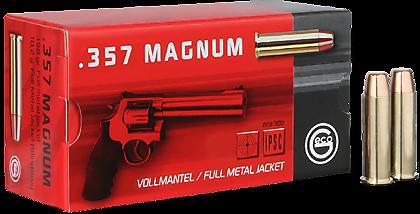 Boite 50 cartouches 357 mag GECO 158 grs FMJ R2317720