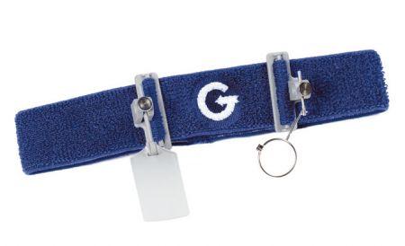 Bandeau GEHMANN avec support verre et écran cache oeil G373