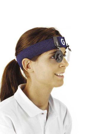 Bandeau GEHMANN avec diaphragme iris réglable et écran cache oeil G397