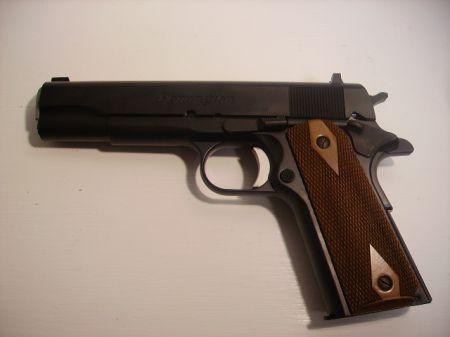 Pistolet 1911 R1 BRONZE hausse fixe cal 45 acp REM1911R1