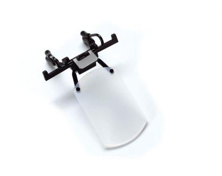 Ecran cache oeil translucide GEHMANN à clipser sur monture de lunette standard