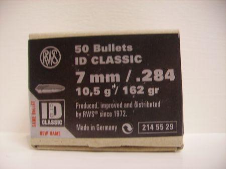 50 ogives ID CLASSIC RWS calibre 7 mmm 10.5 g R2145529