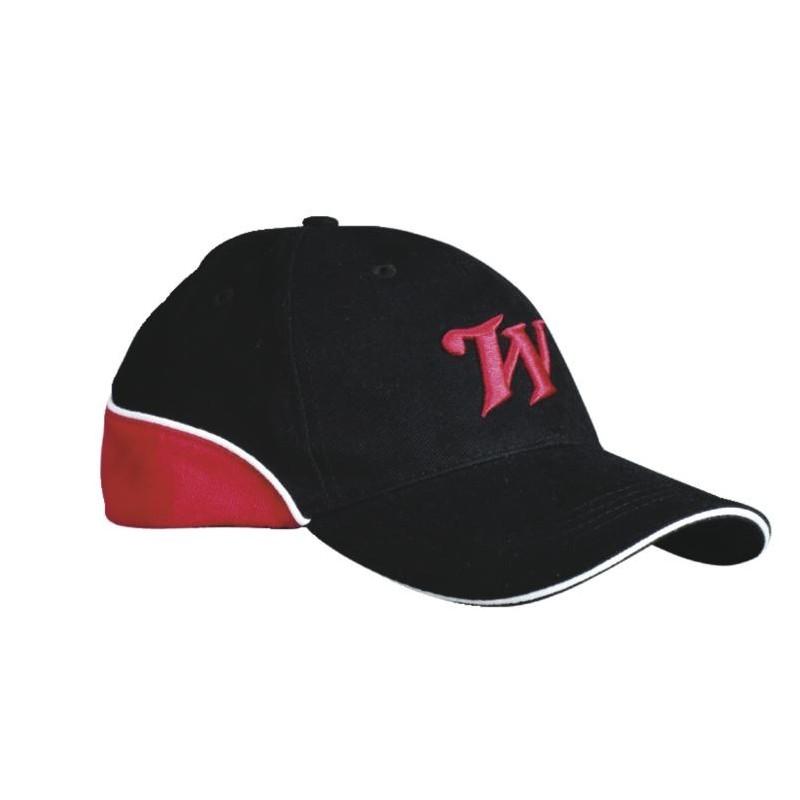 Casquette WINCHESTER noire, rouge et blanc BRO308811