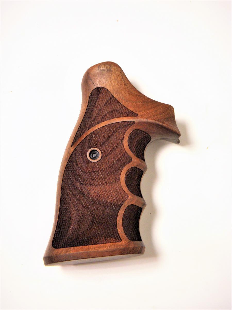 Poignée en bois ambidextre pour revolver Smith & Wesson N RB SW016PHG8
