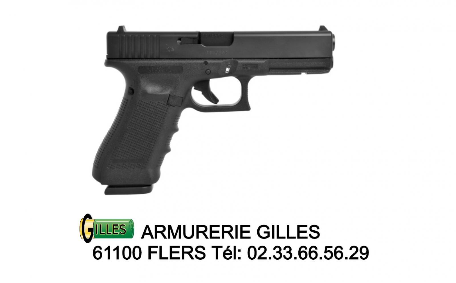 Pistolet  GLOCK 17 GEN 4 Cal. 9x19 mm