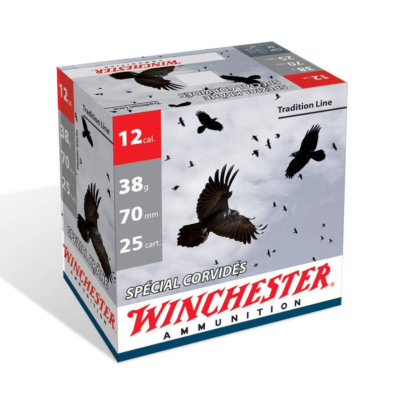 Pack de 100 cartouches calibre 12 WINCHESTER SPECIAL CORNEILLE  WCHSPC