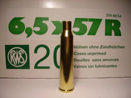 douilles vides RWS cal 6.5 x 57R RWS6557R