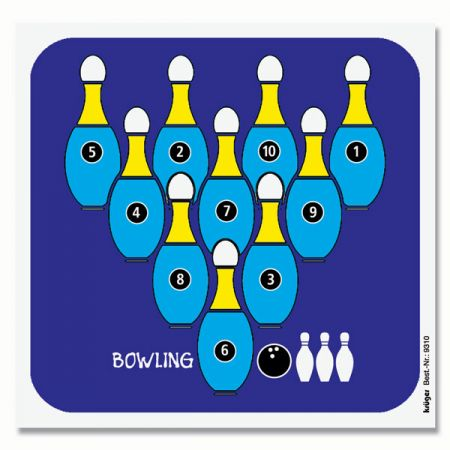 Cibles de loisir BOWLING 14 x 13.5 KRU9310