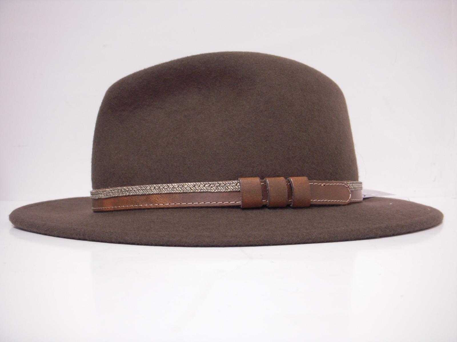 Chapeau feutre LODENHUT marron LOD43200
