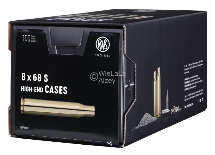 douilles vides RWS cal 8 X 68 S