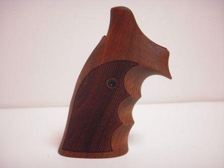 Poignée COMBAT en bois pour revolver Smith & Wesson K/L RB SW036HO8