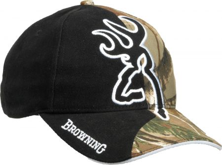 Casquette BROWNING noire / camo BRO3082042