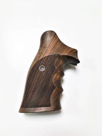 Poignée COMBAT en bois pour revolver Smith & Wesson K/L SB SW0468