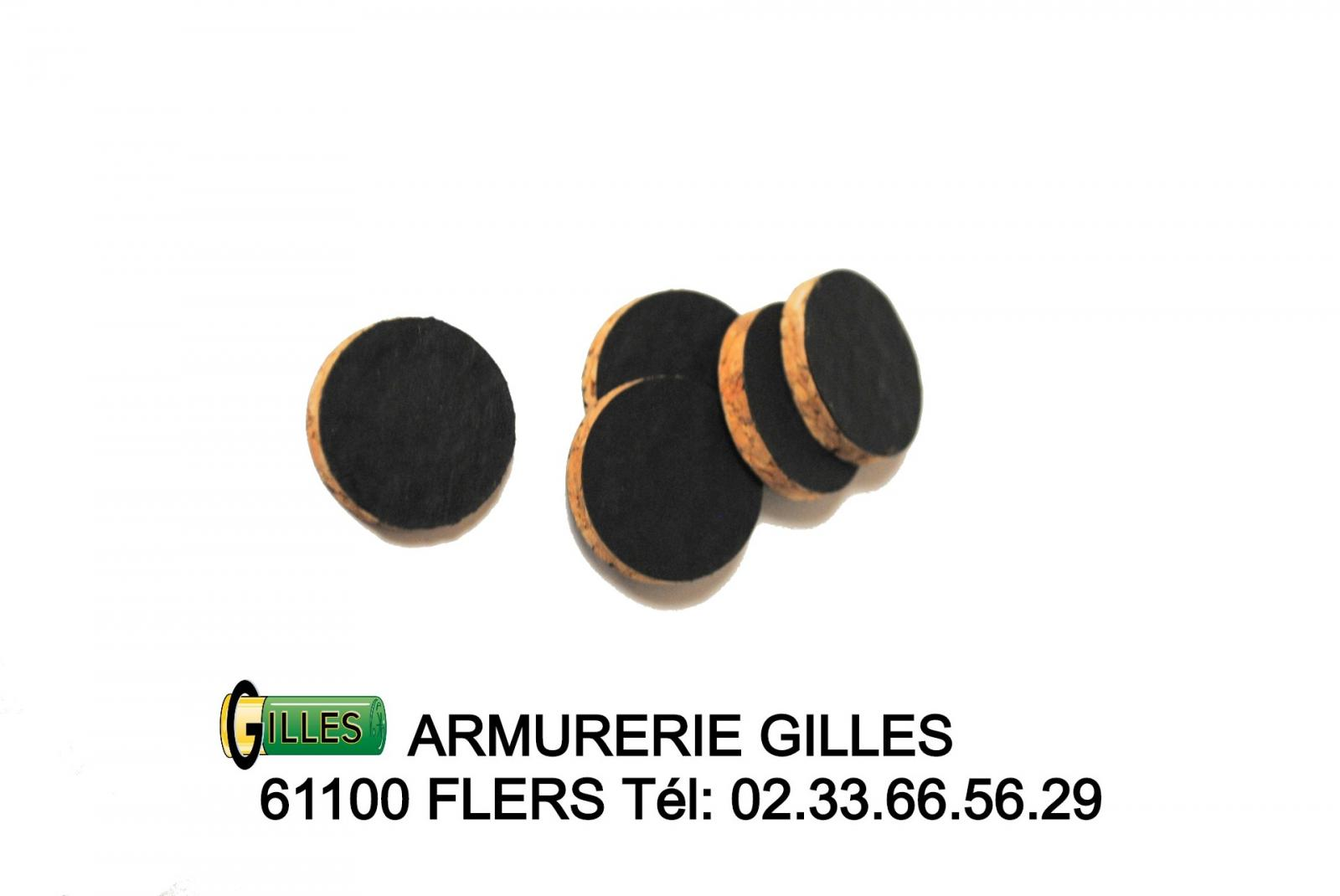 Fermetures lièges calibre 12 FL12