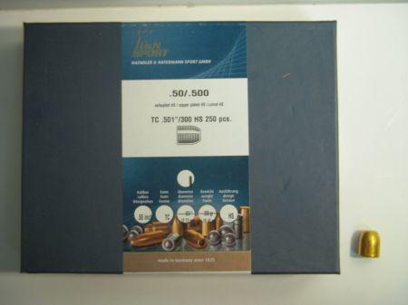 Ogives 50(.500) cuivrés HN50TMJ