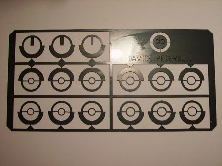Set 15 inserts de guidon PEDERSOLI USA408