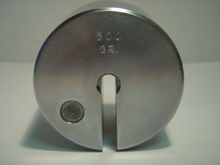 Poids supplémentaire de 500 grs pour pèse détente GEHMANN G751-500