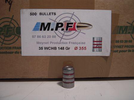 ogives 38 (.355) WC HB graissées MPF355WC