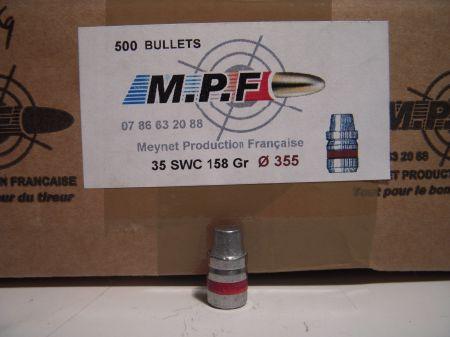 ogives 38 (.355) SWC graissées MPF355SWC