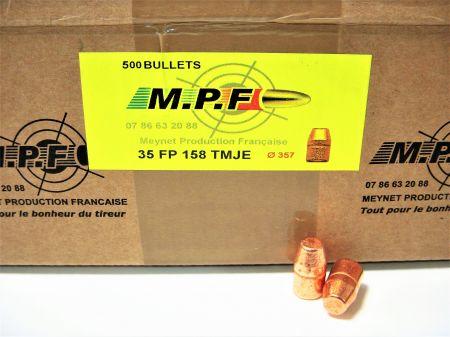 ogives 38 (.357) SWC 158 grs TMJ MPF357TMJ