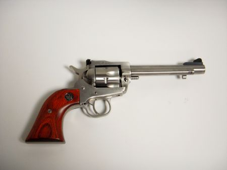 Revolver RUGER SINGLE SIX Cal 22LR/22MAG INOX