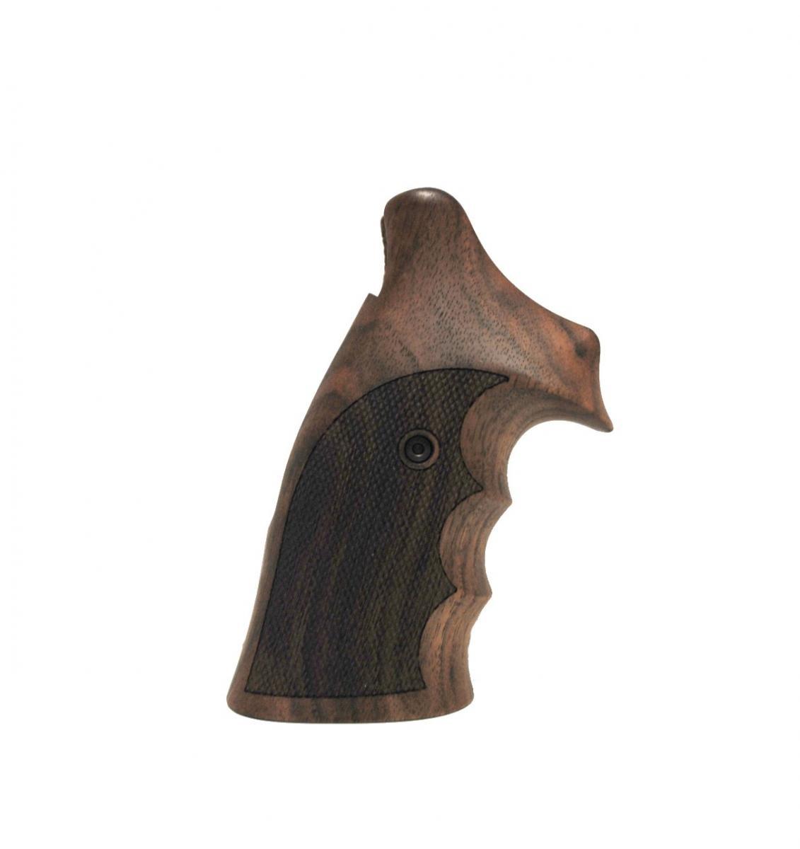 Poignée en bois ambidextre pour revolver Smith & Wesson N-RB SW016HO8