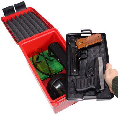 Malette de transport MTM pour arme de poing + matériel