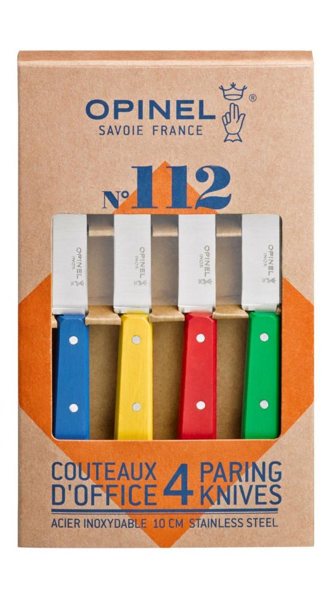 Couteaux d' office OPINEL 4 couleurs