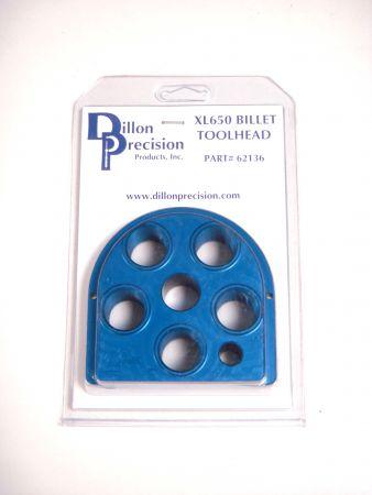 Plateau porte outils anodisé bleu pour presse XL 650 / 750