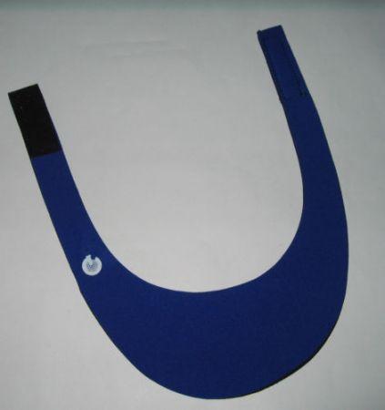 Visière de tir GEHMANN bleue G448