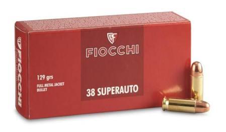 Bte 50 cart FIOCCHI 38SA 129 grs FMJ FIO709080