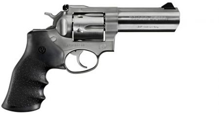 Revolver RUGER GP100 INOX Cal 357 Mag 4.20 pouces
