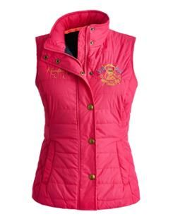 Gilet sans manche MARYKING rose