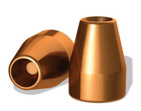 Ogives 9 mm (.356)  cuivrés creuses 100 grs