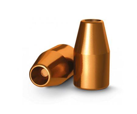 Ogives 9mm (.356) cuivrées creuses 145 grs